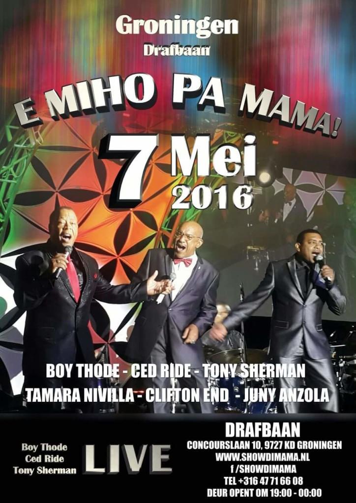 Flyer Moederdag 7 mei 2016